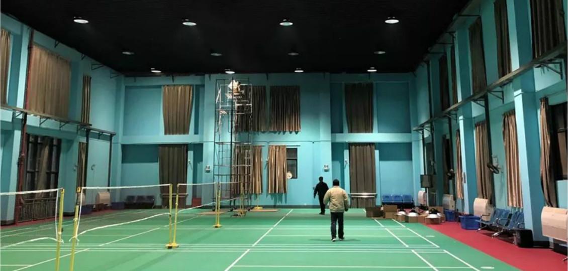 尽显运动本色|中船重工712研究所羽毛球馆照明改造项目