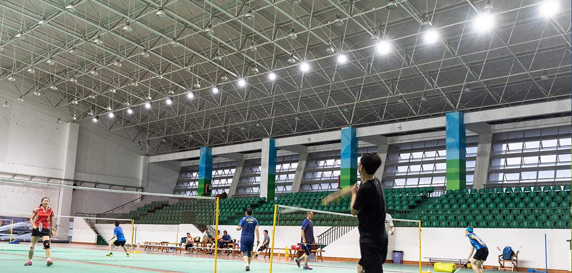 助力健康体魄|深圳市龙岗区实验学校体育馆灯光改造