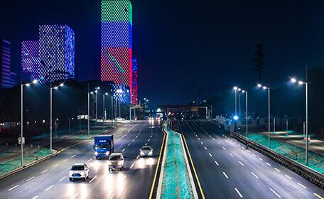 照亮美丽宝龙|宝龙片区道路提升改造EPC项目道路亮化工程