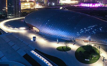 添彩智能亚运 杭州奥体中心亚运三馆智慧杆项目